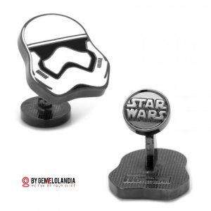 Gemelos Star Wars - Star Wars Cufflinks - Gemelos Stormtrooper - Stormtrooper - Star Wars - May the 4th be witw you - Gemelos Star Wars en Gemelolandia - Gemelolandia