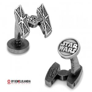 Gemelos Star Wars - Star Wars Cufflinks - Gemelos Tie Fighter - Tie fighter - Star Wars - May the 4th be witw you - Gemelos Star Wars en Gemelolandia - Gemelolandia