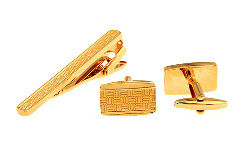 Gold-Design-Mosaico gemelos camisa