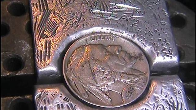 Gemelos Hobo Coins Cufflinks