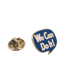 Pin de Solapa We Can Do It! 18x16mm