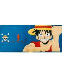 Cartera One Piece Monkey D Luffy Azul