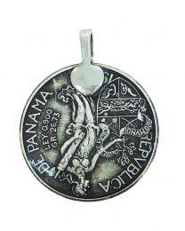 Colgante Replica moneda de Vasco Nuñez de Balboa Panama