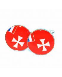 Gemelos  de Bandera Wallis y Futuna