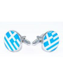 Gemelos  de Bandera Grecia