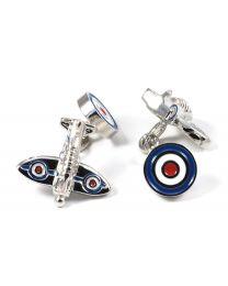 Gemelos Caza Britanico Colores RAF