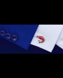 Gemelos para Camisa Gamba Roja 3D