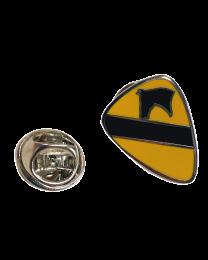 Pin de Solapa 1ª Division de Caballeria Estados Unidos 1st Calvary Divison USA 20x15 mm