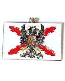 Llavero Bandera de los Tercios de Flandes