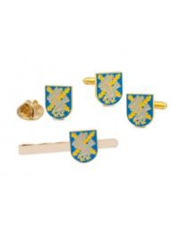 Pack de la Brigada Operativa Polivalente Galicia VII BRILAT. Contiene: Gemelos, pin y Pasador