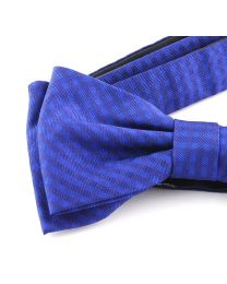 Pajarita Seda 100% HUGO Blue and Blue Diamonds 50312682 Bow Tie
