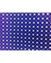 Pañuelo de Bolsillo HUGO de Seda Pura Marino y Blanco 50333629 33x33 cm