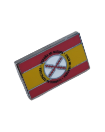 Gemelos de Camisa Bandera España Lema Tercios de Flandes 18x11mm