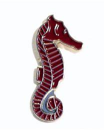 Pin de Solapa Caballito de Mar Rojo