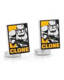 Gemelos Star Wars Clone Troopers Pop Art Special Poster Cuff