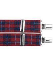 Tirantes para pantalones elásticos escoceses