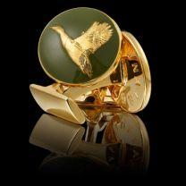 Gemelos Skultuna Serie The Hunter The Flying Duck - El Pato Volando Dorado