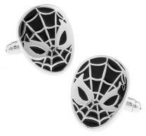 Gemelos para camisa Spiderman Negro