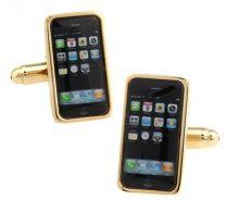 Gemelos Iphone Dorado