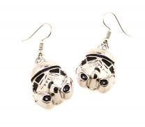 Pendientes Stormtrooper Plated Face 18x15mm