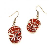 Pendientes Spiderman Red Face 20x15mm