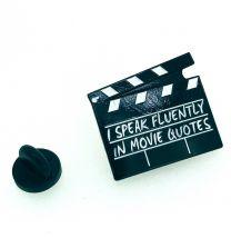 Pin de solapa Claqueta de CIne 25x22mm