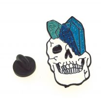Pin de solapa Calavera Piedras preciosas mod 2 32x18mm