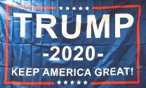 Bandera Donald Trump Campaña Presidencial 2020 90x150cm