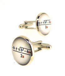 Gemelos de Camisa Magglass Formula Matematica 16 mm