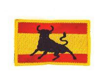 Parche Termoadhesivo Bandera España Toro 7,8x4,8cm