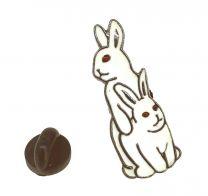 Pin de solapa Conejos Copula 34x12mm