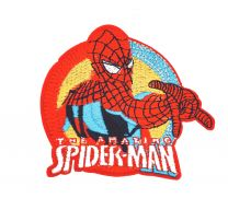 Parche Bordado Amazing Spiderman 9,5x8cm