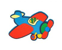Parche Bordado Avion de Juguete 6,5x5,5cm
