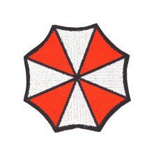 Parche Bordado Termoadhesivo Umbrella Corp 7x7cm