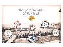 Coleccion Pines de Solapa Escuadrilla Azul 1941-1944