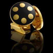 Gemelos Skultuna Balls Royal Negro