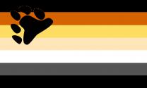 Bandera Bear Brotherhood LGTBI 90x150cm