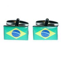Gemelos Bandera Brasil