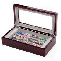 Caja de Coleccionista de Gemelos 20 pares Color Granate