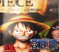 Cartera One Piece Monkey D Luffy & Portgas D Ace