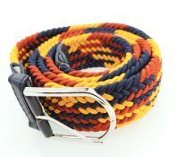 Cinturón Elástico Colores Amarillo, Azul y Rojo Talla Única