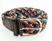 Cinturón Elástico Colores Negro, Marrón, Azul y Rojo Talla Única