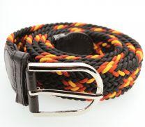 Cinturón Elástico  Negro Colores España Talla Única