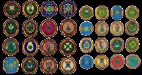 Coleccion Completa Parches y Pins Operación Balmis 2020