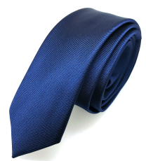 Corbata de Microfibra Azul
