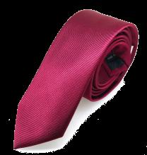 Corbata de Microfibra Granate