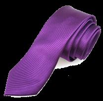 Corbata de Microfibra Morada
