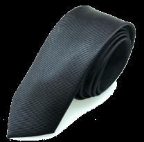Corbata de Microfibra Negra