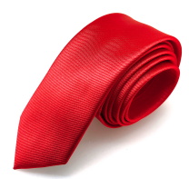 Corbata de Microfibra Roja