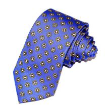 Corbata de Seda Twill Rocroix Azul